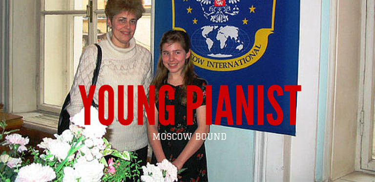 Young Pianist Is Moscow-Bound