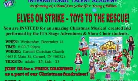 Elves On Strike – Toys To The Rescue!