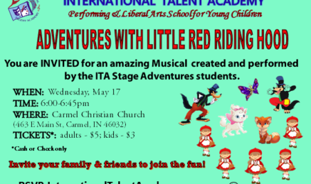 Stage Adventures Spring Show: May 17th