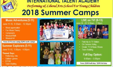 SUMMER CAMPS 2018