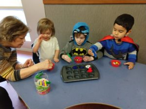 Children enjoy fun critical thinking activities at International Talent Academy's Logic in Motion program.