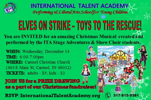 Elves On Strike – Toys To The Rescue!