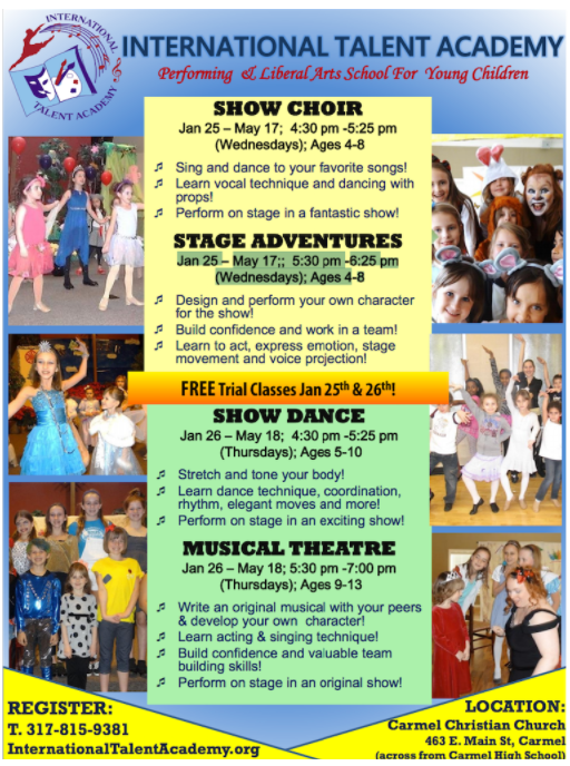 JOIN US for the Main Stage classes and try the first class for FREE!