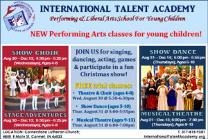 JOIN US FOR FREE TRIAL CLASSES THIS FALL!