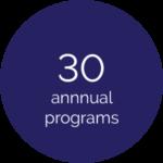 30 annual programs