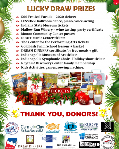 Lucky Draw Prizes Thank you, sponsors Flyer_2019_Winter